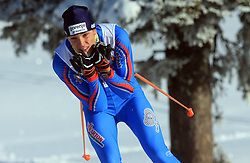 Slovenian cross-country skier Rok Trsan at 10th OPA - Continental Cup 2008-2009, on January 17, 2009, in Rogla, Slovenia.  (Photo by Vid Ponikvar / Sportida)