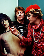 The Damned Captain Sensible backstage