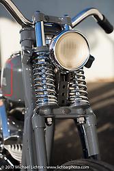 "A custom 1966 Harley-Davidson Shovelhead by Takuya ""Taku"" Aikawa of Sure Shot Motorcycles shot on location, Chiba Prefecture, Japan. Saturday December 9, 2017. Photography ©2017 Michael Lichter."