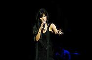 Acclaimed fado singer Ana Moura, performing live at the Barbican, La Linea Festival, London, UK (20 April 2013)