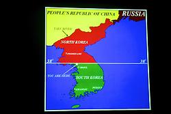 North-South Korea Map, DMZ Tour