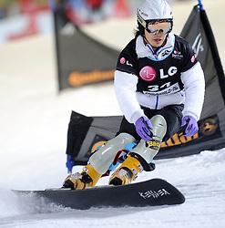 10-10-2010 SNOWBOARDEN: LG FIS WORLDCUP: LANDGRAAF<br /> First World Cup parallel slalom of the season / ERLACHER Meinhard ITA<br /> ©2010-WWW.FOTOHOOGENDOORN.NL