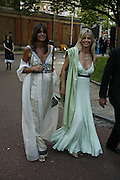 The Countess Debbie von Bismark and the Countess of Milford Haven. Sigrid Rausing and Eric Abraham, Ark Gala Dinner, Marlborough House, London. 5 May 2006. ONE TIME USE ONLY - DO NOT ARCHIVE  © Copyright Photograph by Dafydd Jones 66 Stockwell Park Rd. London SW9 0DA Tel 020 7733 0108 www.dafjones.com