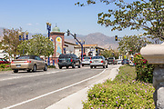 Downtown Azusa at Azusa Ave and Historic Route 66