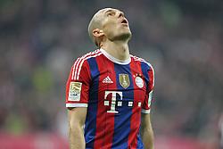 01-11-2014 GER: FC Bayern Munchen vs Borussia Dortmund, Munchen<br /> Arjen Robben #10 (FC Bayern Muenchen) *****NETHERLANDS ONLY*****