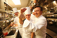 In the kitchens of Restaurant Daniel, of Chef Daniel Boulud, in New York City