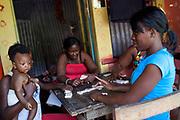 Rastafarian community, Trinityville, St Thomas, Jamaica.