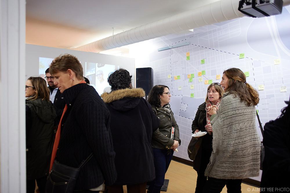 Mural Arts Program's Neighborhood Time Exchange artist exhibition<br /> November 13, 2015