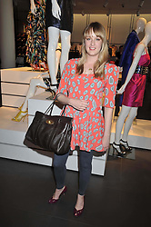 CARLY LAWSON daughter of Twiggy at a party to celebrate the launch of the Matthew Williamson collection at H&M held at the H&M store, Regent Street, London on 22nd April 2009.