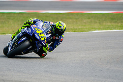September 7, 2018 - Misano Adriatico, Ialy, Italy - 46 VALENTINO ROSSI from Italy, Movistar Yamaha MotoGP Team, Yamaha YZR-M1 2018, Gran Premio Octo di San Marino e della Riviera di Rimini, during the Friday FP1 at the Marco Simoncelli World Circuit for the 13th round of MotoGP World Championship, from September 7th to 9th - Photo by Felice Monteleone - NurPhoto  (Credit Image: © Felice Monteleone/NurPhoto/ZUMA Press)