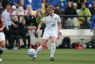 04 December 2011: Duke's Nicole Lipp. The Stanford University Cardinal defeated the Duke University Blue Devils 1-0 at KSU Soccer Stadium in Kennesaw, Georgia in the NCAA Division I Women's Soccer College Cup Final.
