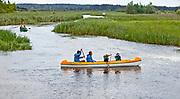 Ukta. 2012-08-13. Splyw kajakowy po rzece Krutyni