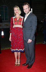 Rafe Spall and Elize du Toit attend the Mum's List premiere at the Curzon Mayfair, London.