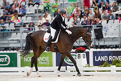 Roberta Sheffield, (CAN), Bindro T - Individual Test Grade III Para Dressage - Alltech FEI World Equestrian Games™ 2014 - Normandy, France.<br /> © Hippo Foto Team - Jon Stroud <br /> 25/06/14