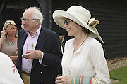 Ronnie Grierson and Lady Victoria Getty, Guy Leymarie and Tara Getty host The De Beers Cricket Match. The Lashings Team versus the Old English team. Wormsley. ONE TIME USE ONLY - DO NOT ARCHIVE  © Copyright Photograph by Dafydd Jones 66 Stockwell Park Rd. London SW9 0DA Tel 020 7733 0108 www.dafjones.com