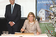 Prinses Máxima opent Archeologiehuis Zuid-Holland.<br />