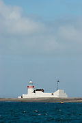 Straw Island Lighthouse on Inishmore, the Aran Islands, Galway, Ireland