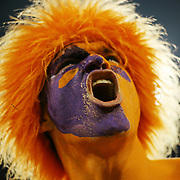 Adam Criswell of Mt. Pleasant, S.C. gets pumped before of the start of the Clemson-Georgia Tech game in Clemson, S.C. ©Travis Bell Photography