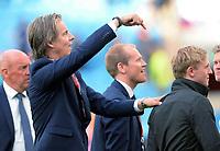 Fotball <br /> UEFA Euro 2016 Qualifying Competition<br /> 12.06.2015<br /> Norge v Aserbajdsjan / Norway v Aserbajdsjan 0:0<br /> Foto: Morten Olsen/Digitalsport<br /> <br /> Jan Åge Fjørtoft og Mats Møller Dæhli - NOR