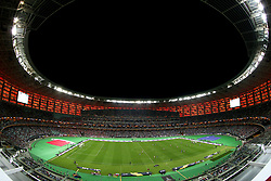 A general view of match action during the UEFA Europa League final at The Olympic Stadium, Baku, Azerbaijan.