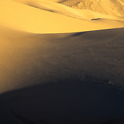 Eureka Dunes in the northern extension area of Death Valley National Park, CA.