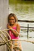 Children, Huahine, French Polynesia
