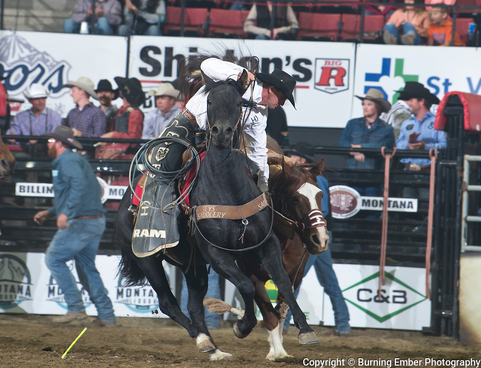 Clint Humble, at the NILE PRCA 3rd perf Event. October 19th, 2018.  Photo by Josh Homer/Burning Ember Photography.  Photo credit must be given on all uses.