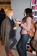 SIENNA GUILLORY; YASMINE MILLS, Smythson Sloane St. Store opening. London. 6 February 2012.