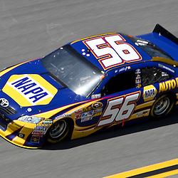 April 17, 2011; Talladega, AL, USA; NASCAR Sprint Cup Series driver Martin Truex Jr. (56) during the Aarons 499 at Talladega Superspeedway.   Mandatory Credit: Derick E. Hingle