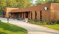 HILVERSUM -  tassenloods, shop, marshall, caddymaster, Hilversumsche Golf Club, COPYRIGHT  KOEN SUYK