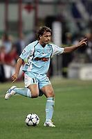 Milano 21/8/2004 Supercoppa Italiana - Italian Supercup Milan Lazio 3-0 Roberto Muzzi Lazio <br /> <br /> Foto Andrea Staccioli Graffiti