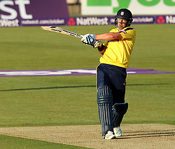 Hampshire's Sean Ervine - Photo mandatory by-line: Robbie Stephenson/JMP - Mobile: 07966 386802 - 04/06/2015 - SPORT - Cricket - Southampton - The Ageas Bowl - Hampshire v Middlesex - Natwest T20 Blast