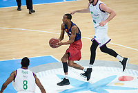 FCB Lassa's Xavier Mumford during Quarter Finals match of 2017 King's Cup at Fernando Buesa Arena in Vitoria, Spain. February 17, 2017. (ALTERPHOTOS/BorjaB.Hojas)