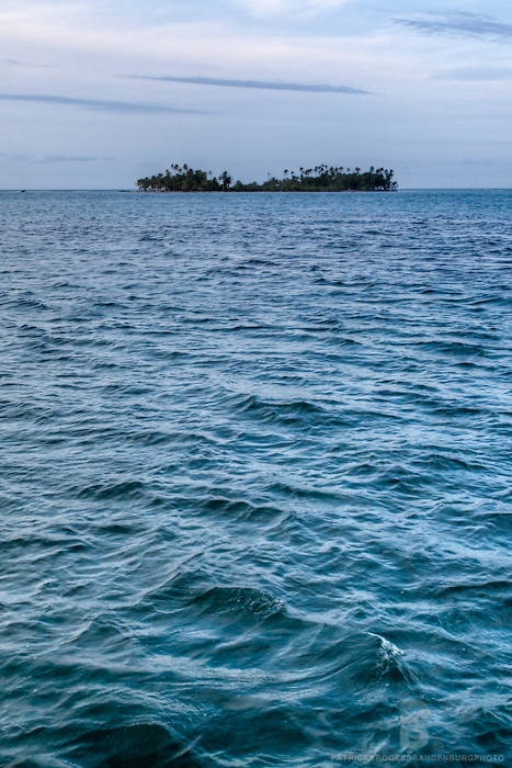 The secluded and tropical San Blas Islands in the Carribean Sea of Panama.
