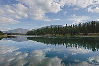 Noxon Reservoir. Clark Fork River Montana