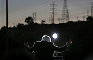 Democratic presidential candidate Sen. Bernie Sanders, I-Vt. speaks during a campaign rally at Qualcomm Stadium on Sunday, May 5, 2016 in San Diego.(AP Photo/Sandy Huffaker)