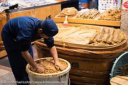 Market, Kyoto, Japan. December 10, 2015.  Photography ©2015 Michael Lichter.