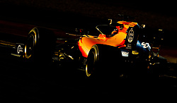 McLaren Carlos Sainz during day three of pre-season testing at the Circuit de Barcelona-Catalunya.