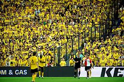 27-04-2008 VOETBAL: KNVB BEKERFINALE FEYENOORD - RODA JC: ROTTERDAM <br /> Feyenoord wint de KNVB beker - Roda support - toeschouwers <br /> ©2008-WWW.FOTOHOOGENDOORN.NL