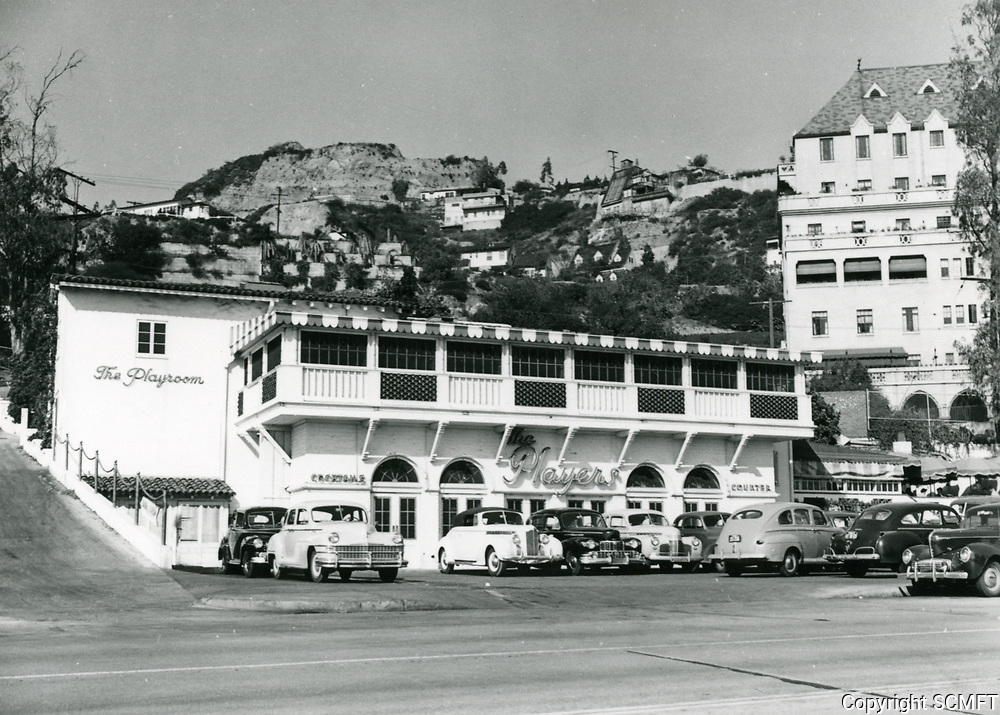 1948 Players Nightclub on Sunset Blvd. in West Hollywood