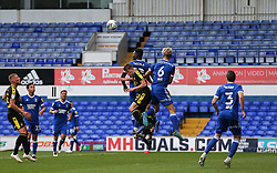 Cameron Hargreaves of Bristol Rovers is sandwiched between two Ipswich players - Mandatory by-line: Arron Gent/JMP - 05/09/2020 - FOOTBALL - Portman Road - Ipswich, England - Ipswich Town v Bristol Rovers - Carabao Cup