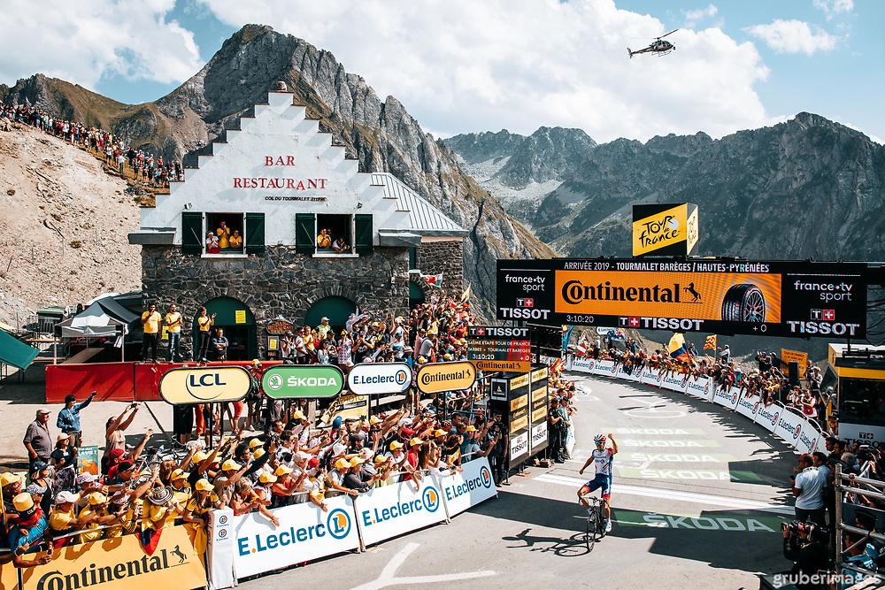 Thibaut and the Tourmalet. 2019 Tour de France.