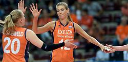 25-09-2014 ITA: World Championship Volleyball Nederland - USA, Verona<br /> Nederland verliest met 3-0 van team USA / Manon Flier