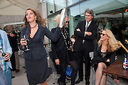 TRACEY EMIN; AMANDA ELIASCH; WARWICK HEMSLEY;; JERRY HALL; , Opening of Love is what you want. Exhibition of work by Tracey Emin. Hayward Gallery. Southbank Centre. London. 16 May 2011. <br /> <br />  , -DO NOT ARCHIVE-© Copyright Photograph by Dafydd Jones. 248 Clapham Rd. London SW9 0PZ. Tel 0207 820 0771. www.dafjones.com.