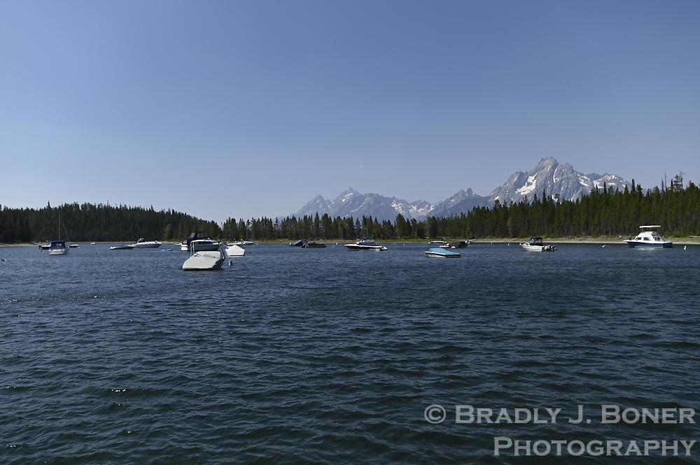 Colter Bay Marina, Grand Teton National Park