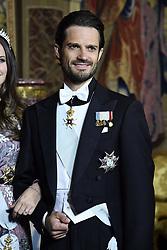 May 31, 2018 - Stockholm, Sweden - Prince Carl Philip ..Official dinner at the Royala Palace, Stockholm, Sweden ..2018-05-31..(c) Karin Törnblom / IBL....Representationsmiddag pÃ¥ Stockolms Slott 2018-05-31 (Credit Image: © Karin TöRnblom/IBL via ZUMA Press)