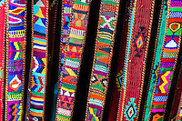 Colorful belts in a shop on the midway of the Albuquerque International Balloon Fiesta, Albuquerque, New Mexico USA