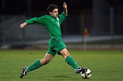 Marijo Mocic (20)  of Slovenia during Friendly match between U-21 National teams of Slovenia and Romania, on February 11, 2009, in Nova Gorica, Slovenia. (Photo by Vid Ponikvar / Sportida)