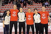 DESCRIZIONE : Ancona Lega A 2012-13 Sutor Montegranaro Angelico Biella<br /> GIOCATORE : Referee<br /> CATEGORIA : arbitro special olympics<br /> SQUADRA : Angelico Biella Sutor Montegranaro<br /> EVENTO : Campionato Lega A 2012-2013 <br /> GARA : Sutor Montegranaro Angelico Biella<br /> DATA : 02/12/2012<br /> SPORT : Pallacanestro <br /> AUTORE : Agenzia Ciamillo-Castoria/C.De Massis<br /> Galleria : Lega Basket A 2012-2013  <br /> Fotonotizia : Ancona Lega A 2012-13 Sutor Montegranaro Angelico Biella<br /> Predefinita :