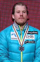 Alpint<br /> FIS World Championships / VM 2015<br /> Vail USA<br /> 08.02.2015<br /> Foto: Gepa/Digitalsport<br /> NORWAY ONLY<br /> <br /> FIS Alpine World Ski Championships, Solaris Championships Plaza, award ceremony Alpine combined, men. Image shows Kjetil Jansrud (NOR).